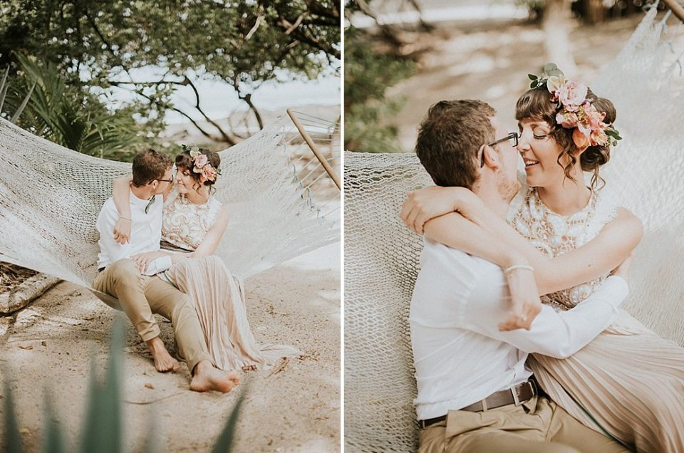Lisa & Bastian, beautiful elopement Tamarindo